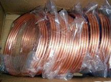 批发空调铜管,紫铜盘管,T2紫铜管,空调专用铜管