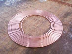 供应空调铜管,空调专用紫铜管,t2紫铜管,规格齐全