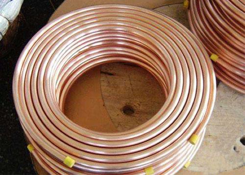 制冷专用铜盘管