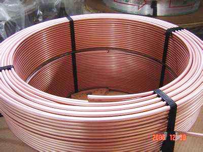 长期批发空调铜管,空调连接管,T3紫铜管,可定制加工