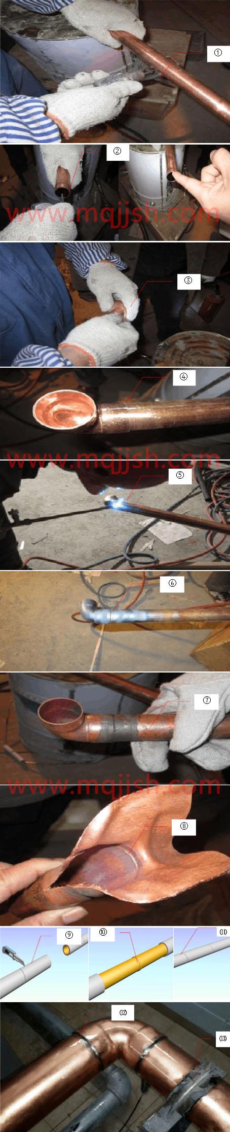 铜管焊接工艺标准流程图